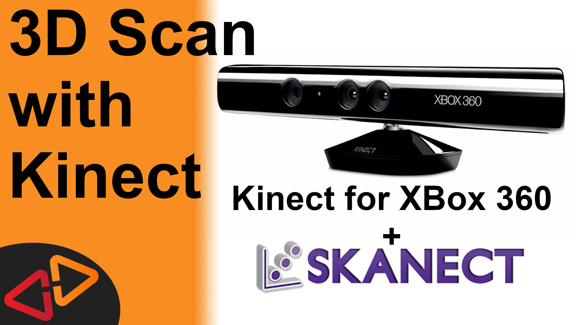 3D Scanning with XBox 360 Kinect and Skanect – Crosslink 3D
